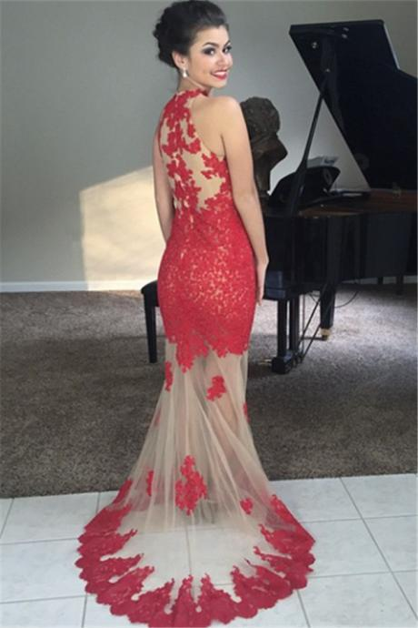 Charming Prom Dress,Mermaid Prom Dresses,Long Evening Dress,Sexy Prom Gown