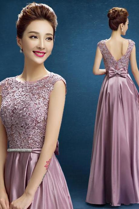 New arrival party evening dresses Long dress Vestido de Festa A-line appliques gown sexy V-opening back