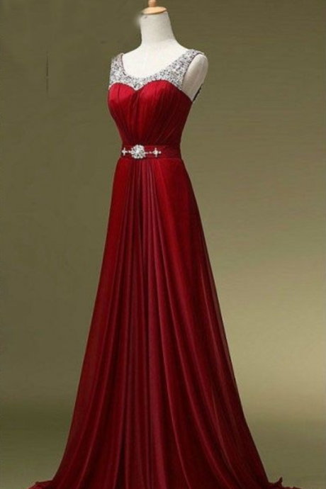 Burgundy Prom Dresses,Wine Red Evening Gowns,Sexy Formal Dresses,Burgundy Prom Dresses 2019,New Fashion Evening Gown,Satin Evening Dress