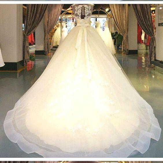 Modest Ball Gown,Bowknot Prom Dress,Illusion Prom Dress,Fashion Bridal Dress,Sexy Party Dress, New Style Evening Dress