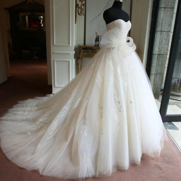 Real Samples Princess Wedding Gown SW12